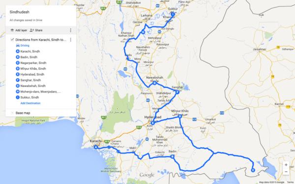 sindh-travel-map