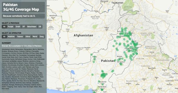 coverage-map-pakistan