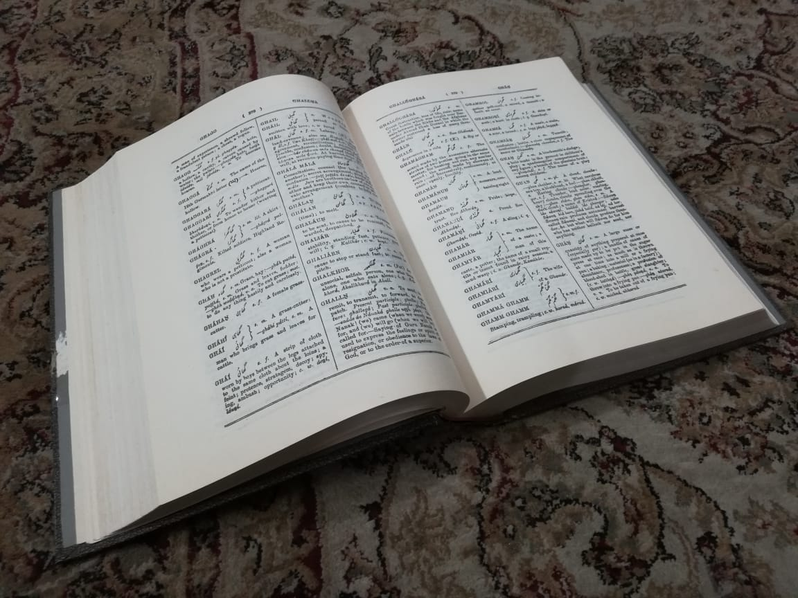 Longing for a 124 Years Old Punjabi Dictionary – Sohail Abid